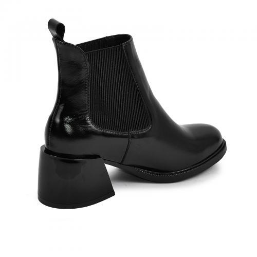 Ботинок Луиза черный лак