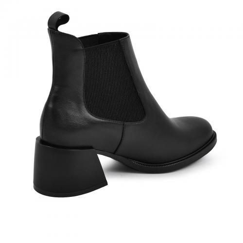 Ботинок Луиза черная кожа