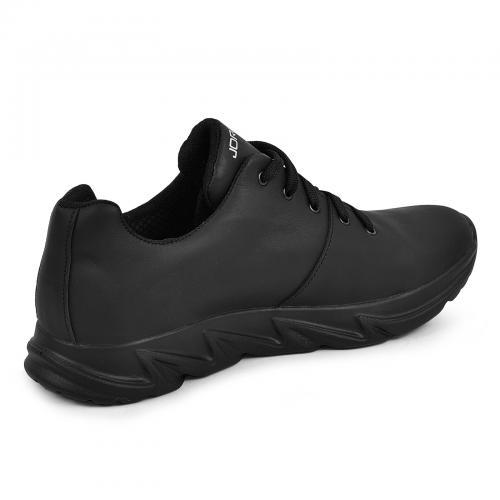 Кроссовки 13 черная кожа