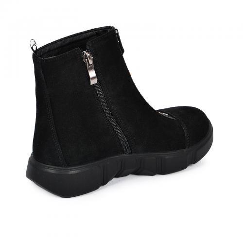 Ботинок 1903 черный замш