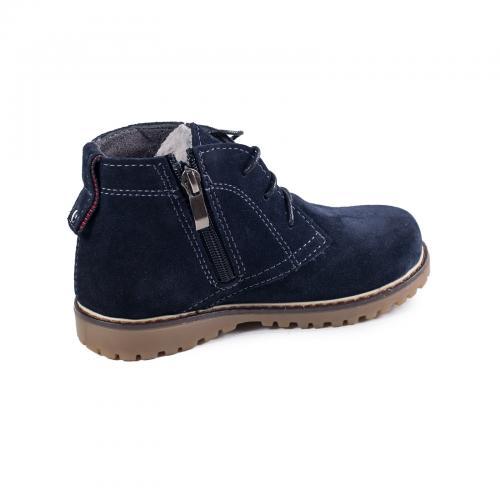 Ботинок НФ Р синий замш