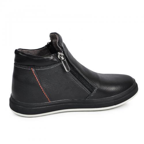 Ботинок РК 2 черная кожа комфорт