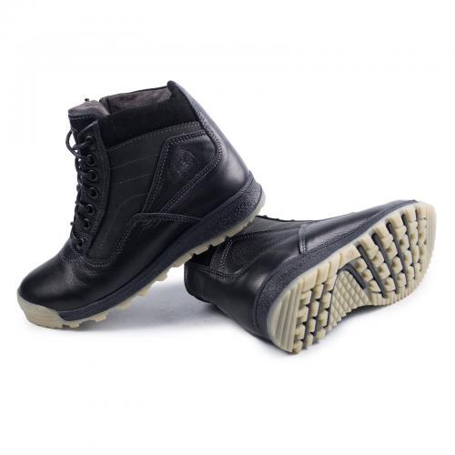 Ботинок Скипер 2 черная кожа