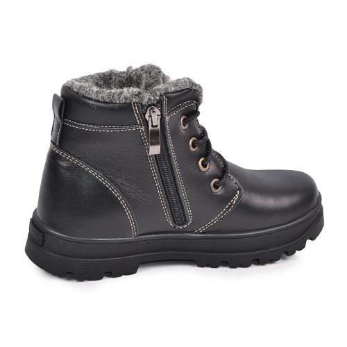 Ботинок Кид черная кожа