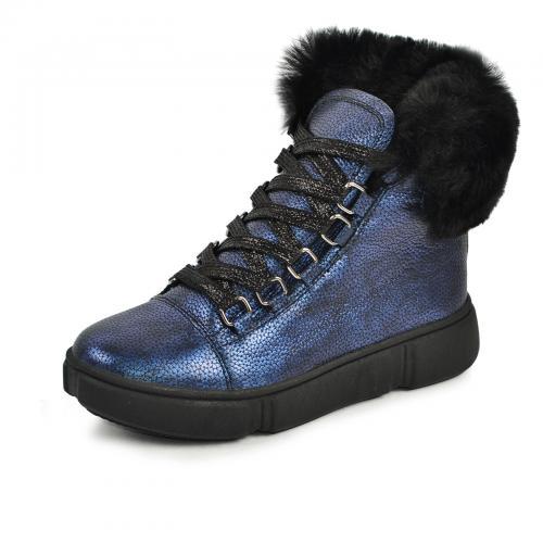 Ботинок 1909 синий флотар