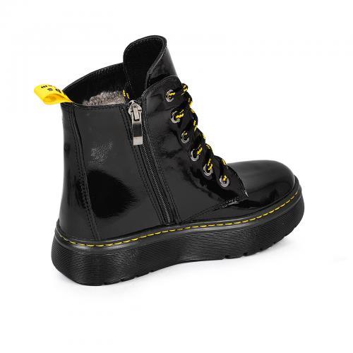 Ботинок 2005 черный лак