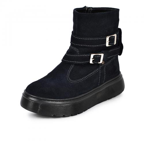 Ботинок 2 П/1 Р синий замш