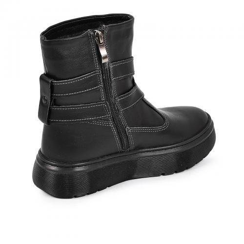 Ботинок 2 П/1 Р черная кожа