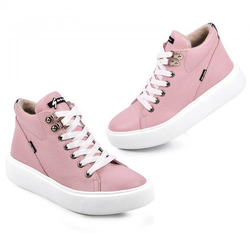 Ботинок Адель розовый флотар