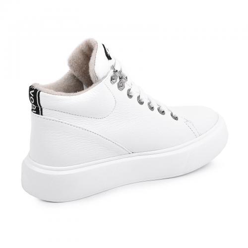 Ботинок Адель белый флотар