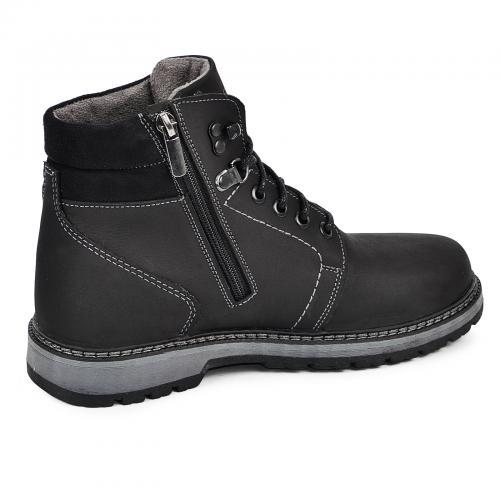 Ботинок Кет 3 черный мат