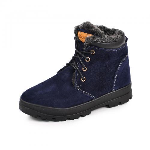 Ботинок Кид синий замш