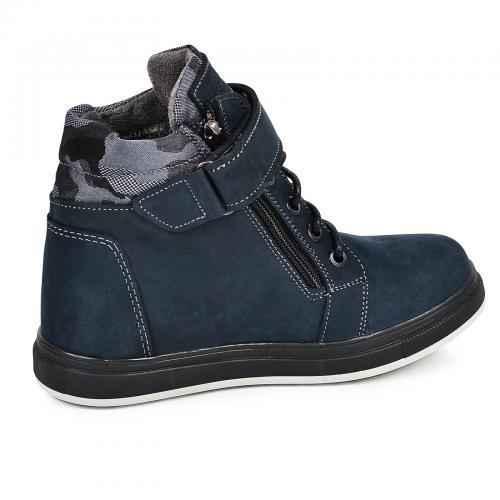 Ботинок Конверс Р синий мат