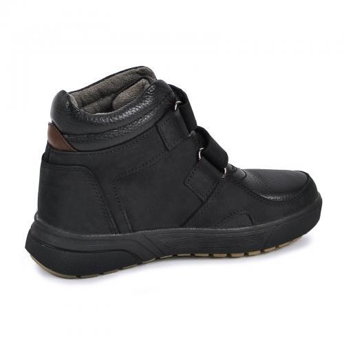 Ботинок Плей 2 черная кожа мат