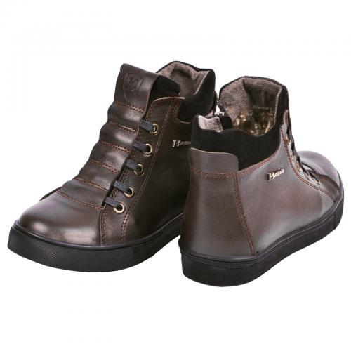 Ботинок Поло 2 коричневая кожа