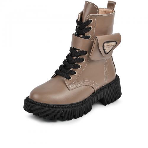 Ботинок Прадо коричневая кожа д
