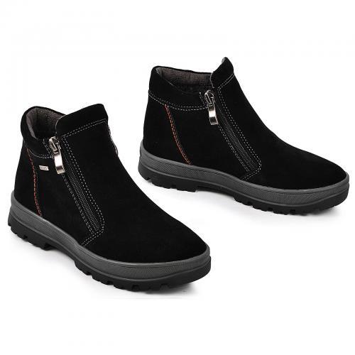Ботинок РК 2 черный замш