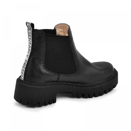 Ботинок Санта черная кожа Ч д