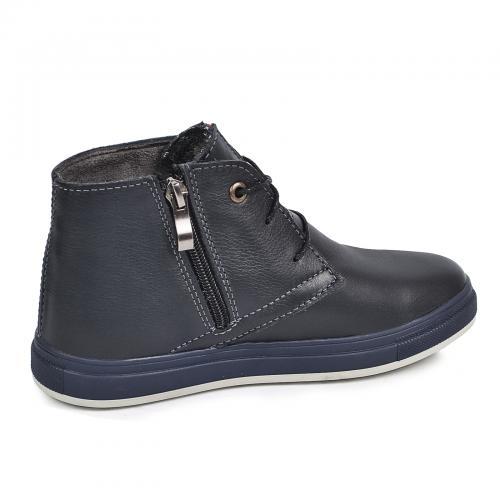 Ботинок  Стайл синяя кожа комфорт