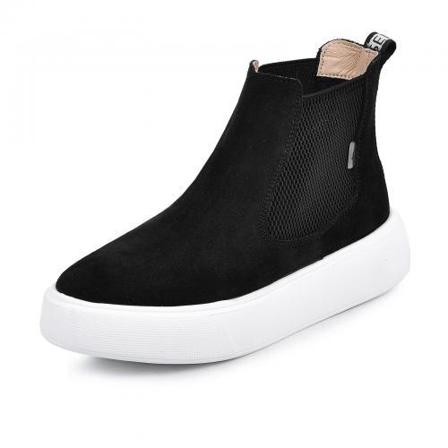 Ботинок Челси 2 черный замш