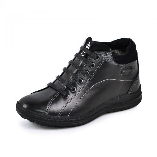 Ботинок Рекс 2 Р черная кожа