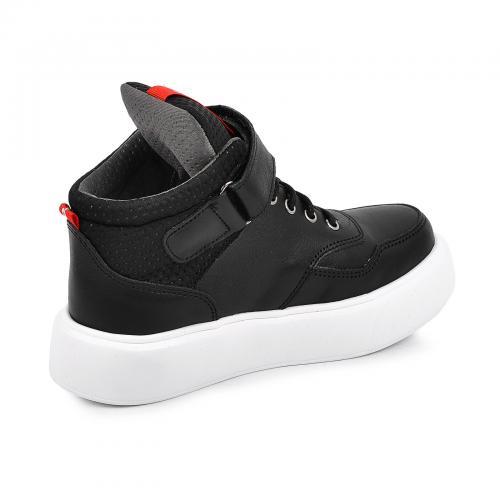 Ботинок Супра/1 черная кожа Б