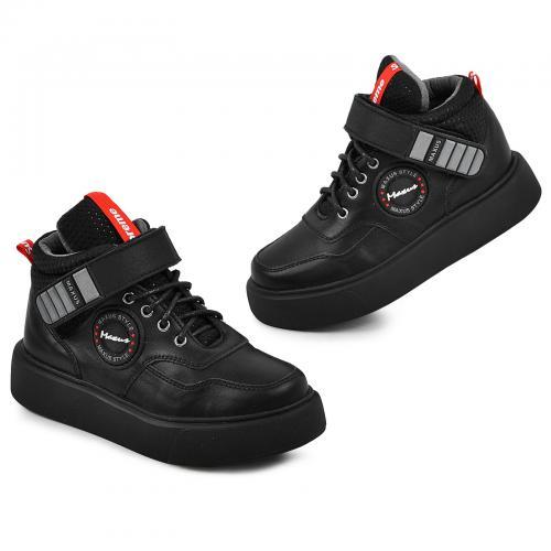 Ботинок Супра/1 черная кожа Ч
