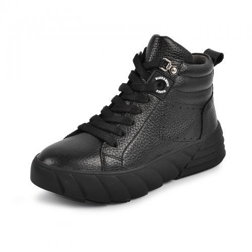 Ботинок Медина черный флотар д
