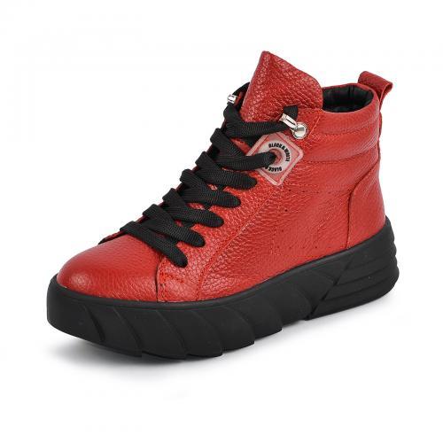 Ботинок Медина красный флотар д