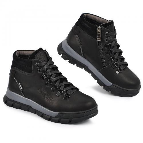 Ботинок Шарк черный мат