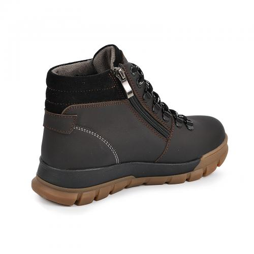 Ботинок Шарк коричневый мат