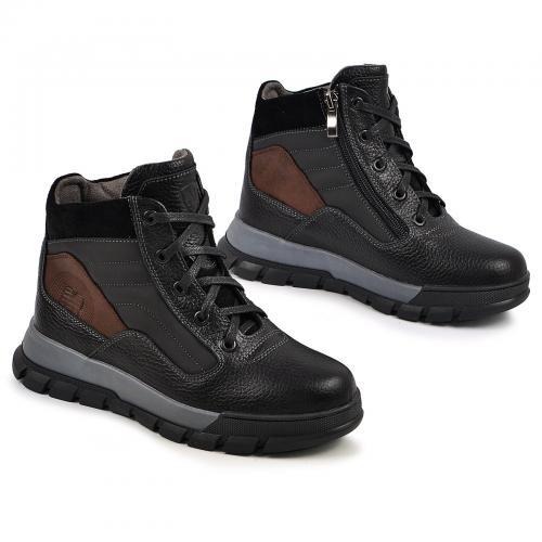 Ботинок Скипер черный флотар