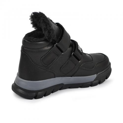Ботинок Супра 2 черная кожа