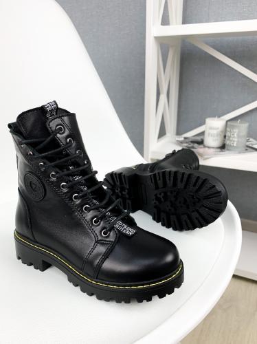 Ботинок Кенди черная кожа д