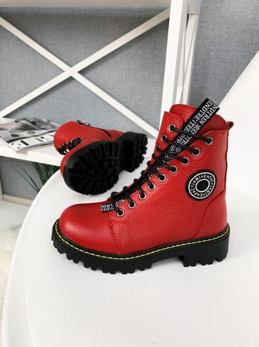 Ботинок Кенди красный флотар д