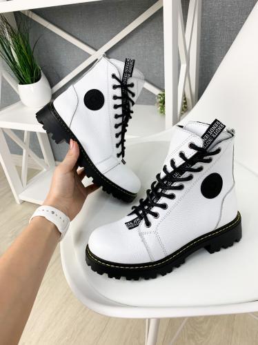 Ботинок Кенди белый флотар д