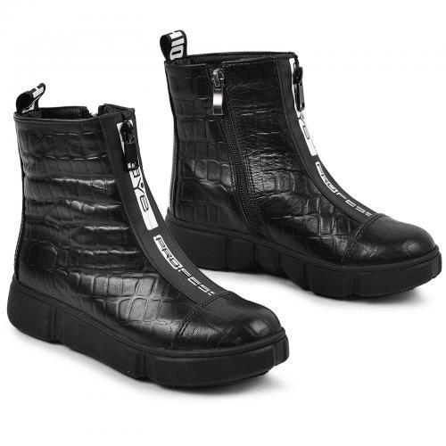 Ботинок 1903 Р черная кожа тес