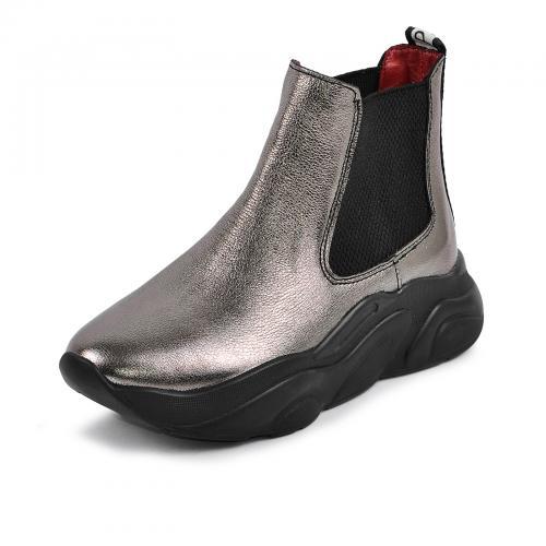 Ботинок Челси Р никель кожа