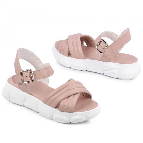 Луиза розовая кожа