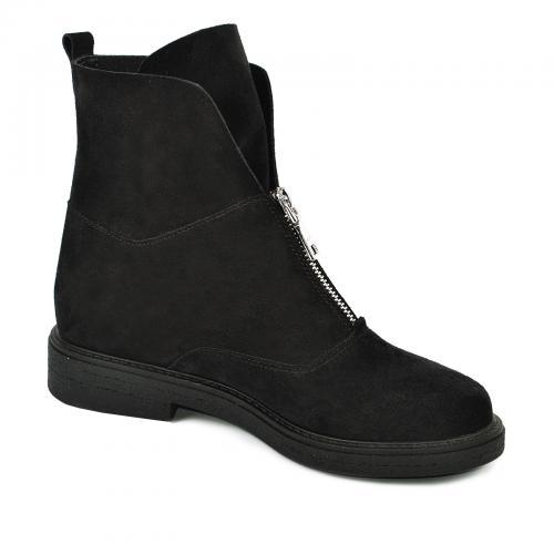 Ботинок 320 черный замш