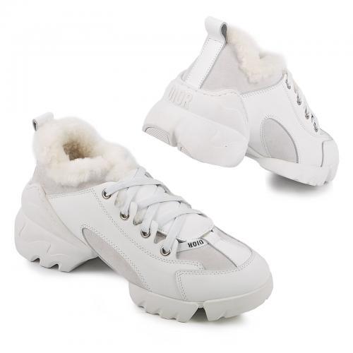 Кроссовки Диор белые