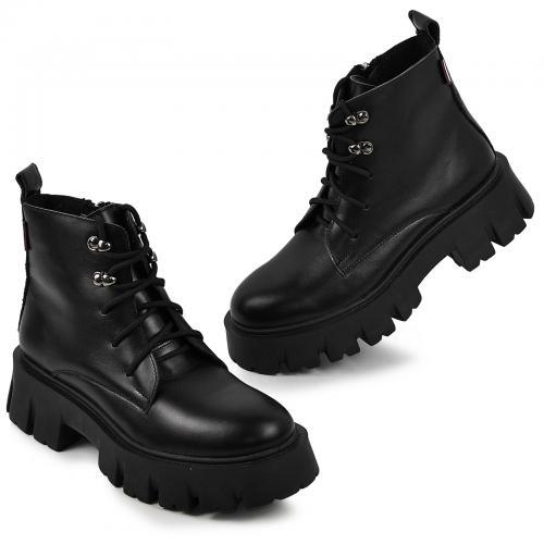 Ботинок Мили 12 черная кожа