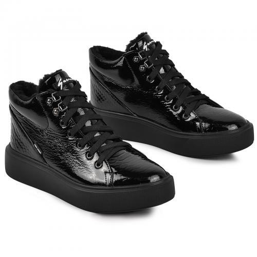 Ботинок Адель 2 черный лак