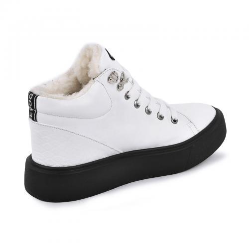 Ботинок Адель 2 белая кожа
