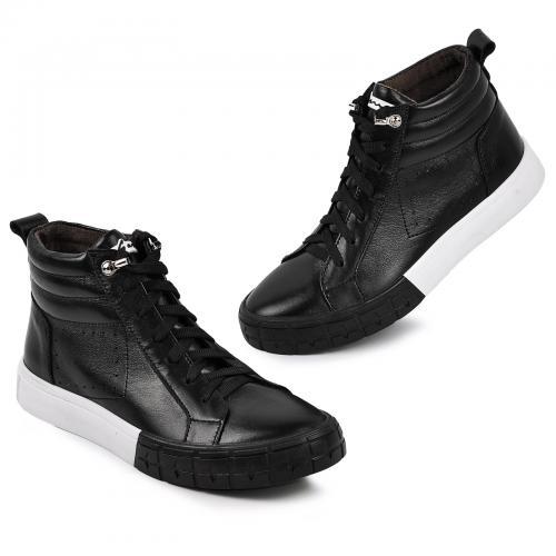 Ботинок Аида черная кожа