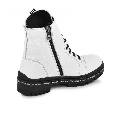 Ботинок Кенди белый флотар