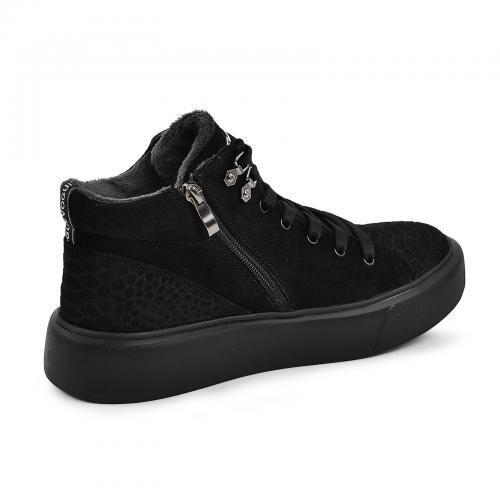 Ботинок Адель2 черный замш