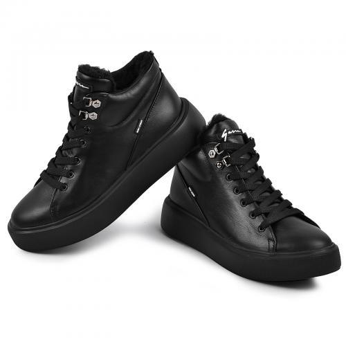 Ботинок Адель черная кожа Ч д