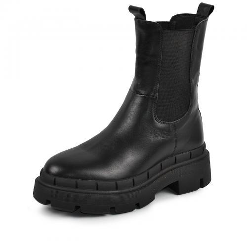 Ботинок Тина черная кожа Ч П