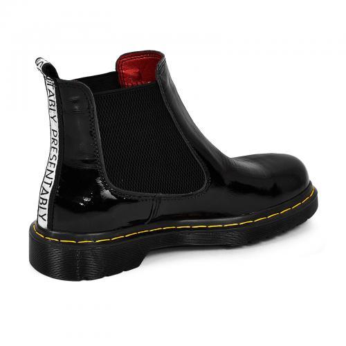 Ботинок Челси -1 черный лак